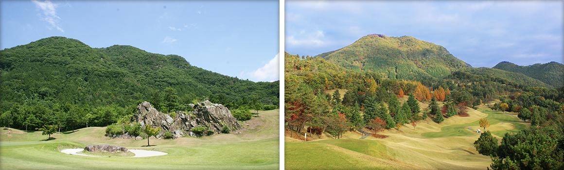 春日居ゴルフ倶楽部の写真