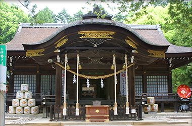 武田神社の写真